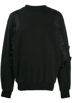 D.Gnak ribbon detail sweatshirt - Black