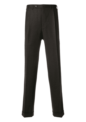 Canali tailored trousers - Brown