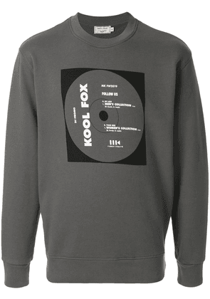 Maison Kitsuné CD Cover sweatshirt - Grey