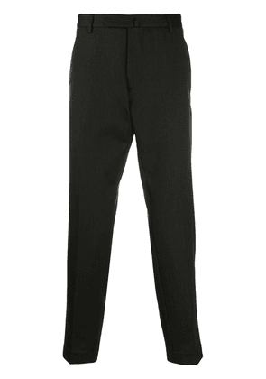 Dell'oglio tapered wool trousers - Green