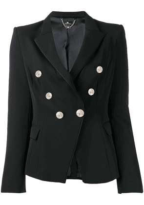 Elisabetta Franchi double-breasted tailored blazer - Black