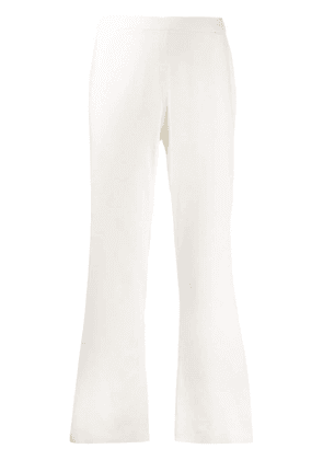 Federica Tosi cropped suit trousers - White