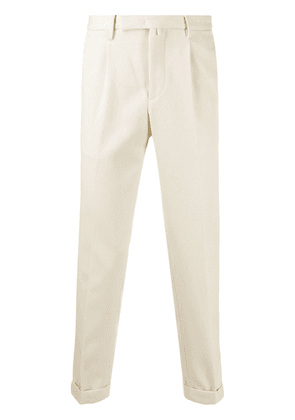 Dell'oglio tailored suit trousers - NEUTRALS