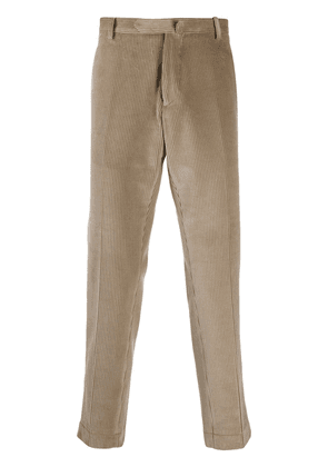 Dell'oglio tapered corduroy trousers - NEUTRALS