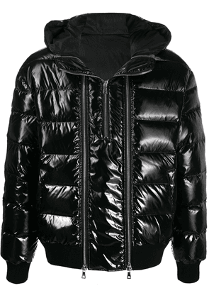Balmain quilted down jacket - Black