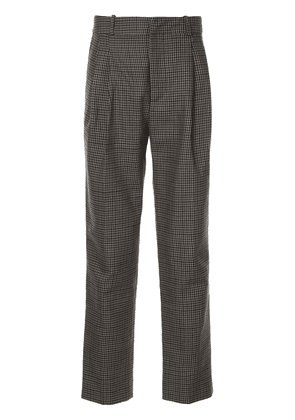 Faith Connexion gingham patterned tailored trousers - Grey