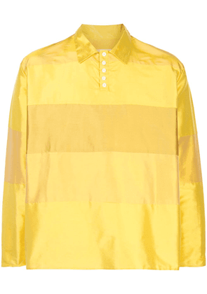 Camiel Fortgens oversized panelled top - Yellow