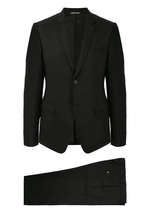 Emporio Armani fitted two-piece suit - Blue