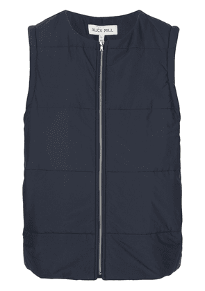 Alex Mill panelled padded vest - Blue