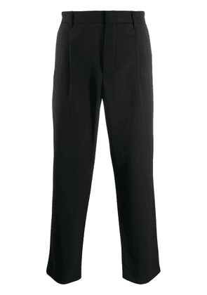 Theory Page cropped trousers - Black