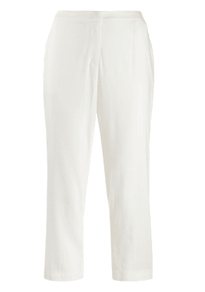 Federica Tosi cropped trousers - White