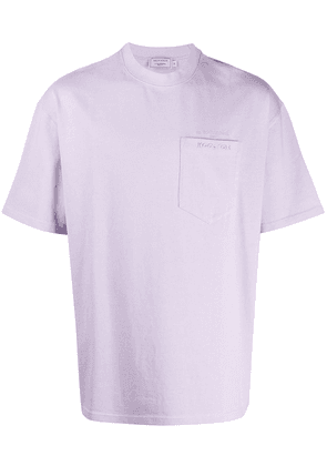 Maison Kitsuné oversized pocket T-shirt - PURPLE