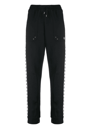Fred Perry drawstring track trousers - Black
