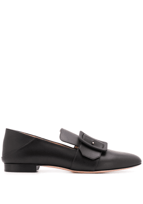 Bally buckle detail loafers - Black