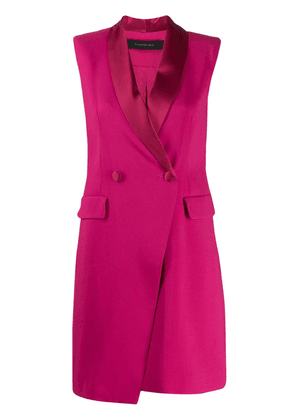 Federica Tosi fitted tuxedo dress - PINK