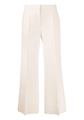 Valentino cropped wide-leg trousers - NEUTRALS