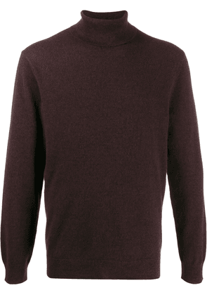 Theory turtleneck jumper - Red