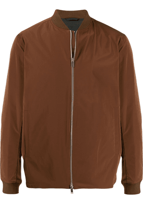 Theory zipped bomber jacket - Brown