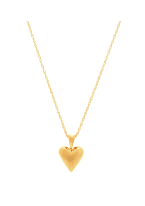 Tiny Heart 18kt gold-plated necklace