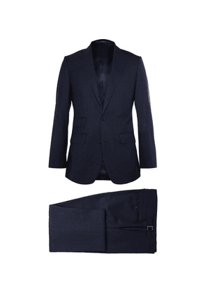 Thom Sweeney - Navy Weighouse Wool Suit - Navy