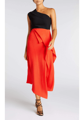 Courtown Skirt - 8 / Bright Red