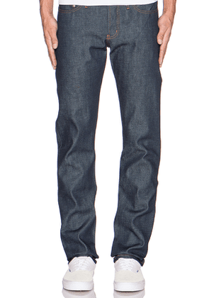 Naked & Famous Denim Weird Guy Dirty Fade Selvedge 14.5oz.. Size 28,30.