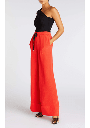 Betterton Trousers - S / Bright Red