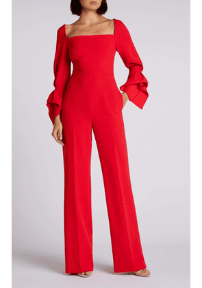 Bethany Jumpsuit - 8 / Bright Red