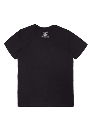 Diesel Patterned T-shirt Unisex Black