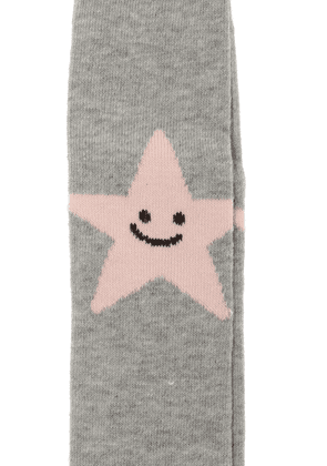 Stella McCartney Kids Star Motif Tights Unisex Grey