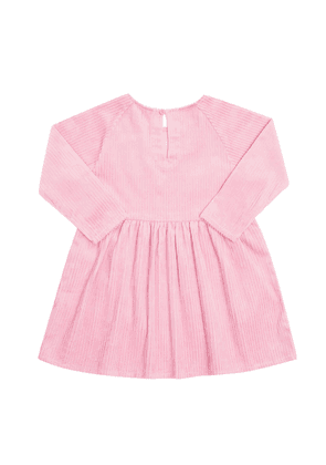 Stella McCartney Kids Ribbed Dress Unisex Pink