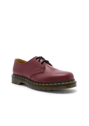 Dr. Martens 1461 3-Eye Shoe in Cherry Red - Red. Size 10 (also in 11,13,7,8,9).