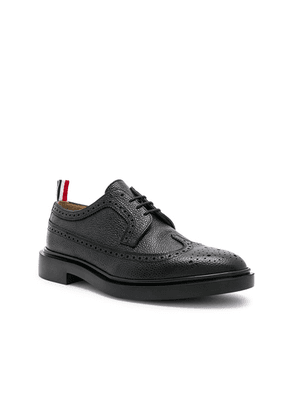 Thom Browne Rubber Sole Brogue in Black - Black. Size 11 (also in 10,10.5,11.5,12,8,9).