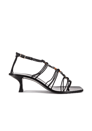 Cult Gaia Ziba Sandal in Black - Black. Size 36 (also in 35,36.5,37,37.5,38,38.5,39,39.5,40,41).