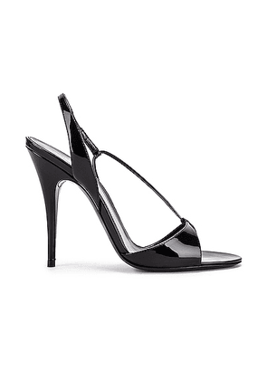 Saint Laurent Anouk Sandals in Black - Black. Size 35 (also in 36,36.5,37,37.5,38,38.5,39,40,41).