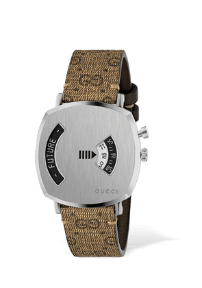 Minute & Roulette Grip Watch