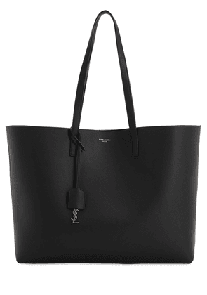 Saint Laurent Smooth Leather Tote Bag