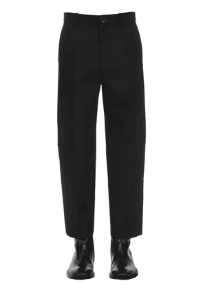 Cropped Technical Twill Pants