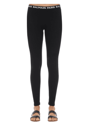 Logo Waistband Leggings