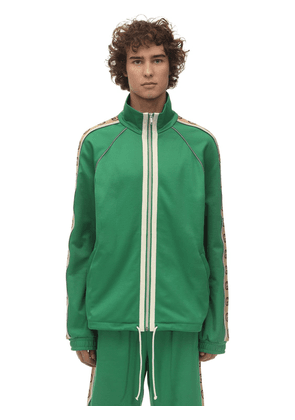 Technical Jersey Zip-up Jacket