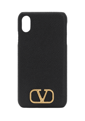 Grained Leather Iphone Xs Max Case
