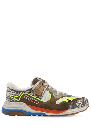 Ultrapace Mesh & Leather Sneakers