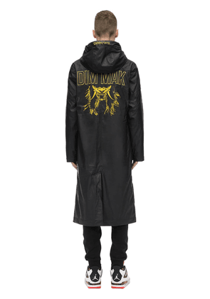 Embroidered Rubberized Raincoat
