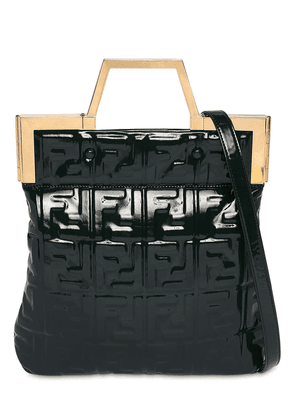 Small Embossed Faux Patent Leather Bag