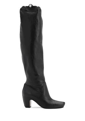 60mm Tall Leather Boots