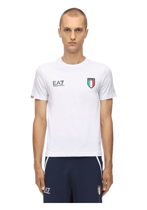 Team Italia Stretch Jersey T-shirt