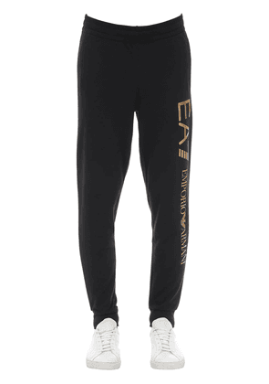 Train Logo Cotton Sweatpants