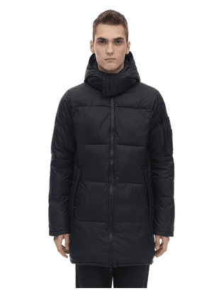 Hooded Mountain Down Parka