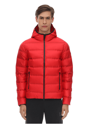 Hooded Mountain Down Jacket