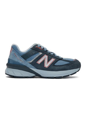 New Balance Blue US Made 990 v5 Sneakers